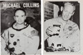 Autographs:Celebrities, Apollo 11 Signed Photos of Buzz Aldrin and Michael Collins....(Total: 2 Items)