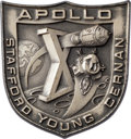 Explorers:Space Exploration, Apollo 10 Flown Silver Robbins Medallion, Serial Number 26, Originally from the Personal Collection of Astronaut Jack Swigert,...