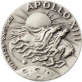 Explorers:Space Exploration, Apollo 13 Flown Silver Robbins Medallion, Serial Number 156,Originally from the Personal Collection of Mission CommandModule...
