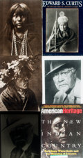 Books:Photography, [Edward S. Curtis]. [Photography]. [Native American]. Small Archive of Material Relating to Photographer Edward S. Curtis. M...