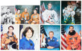 Autographs:Celebrities, NASA Astronaut-Signed Photo Collection. ... (Total: 17 )