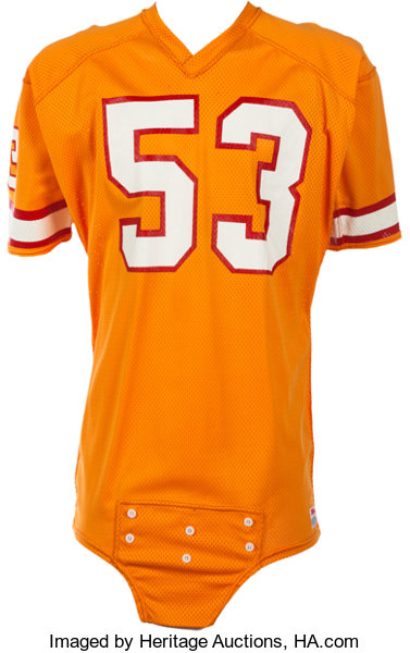 660461ab2 1981-85 Hugh Green Game Worn Tampa Bay Buccaneers Jersey. ...