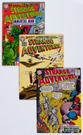 Silver Age (1956-1969):Science Fiction, Strange Adventures Group (DC, 1962-71) Condition: Average VG....(Total: 31 Comic Books)