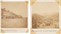 Photography:Cabinet Photos, Two Mounted James Gardner Albumens of Civil War Scenes.... (Total:2 )