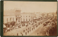 Photography:Cabinet Photos, Ulysses S. Grant Mourning Parade at Galesburg, Illinois, CabinetCard....