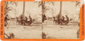 Photography:Stereo Cards, General Ambrose Burnside and Mathew Brady Stereoview by Brady....