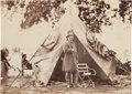 Photography:Cabinet Photos, Unmounted Albumen of General Ambrose Burnside at Cold Harbor....