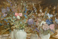 Paintings, CLARICE SMITH (American, b. 1933). Floral, 1987. Oil on canvas. 24 x 36 inches (61.0 x 91.4 cm). Signed lower left: C....
