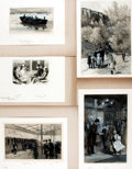 Books:Original Art, [Original Art] Enoch Ward. Group of Five Watercolor Drawings. No date. All are mounted to board. Various sizes; largest meas...