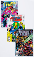 Modern Age (1980-Present):Superhero, Justice League of America-Related Box Lot (DC, 1987-95) Condition:Average NM-....