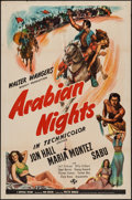 "Movie Posters:Adventure, Arabian Nights (Universal, 1942). One Sheet (27"" X 41"") Style C.Adventure.. ..."