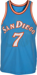 "Basketball Collectibles:Uniforms, 1979-80 Robert ""Bingo"" Smith Game Worn San Diego Clippers Jersey...."