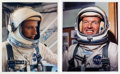 Autographs:Celebrities, Gemini 5 Individually Signed Spacesuit Color Photos of Gordon Cooper and Charles Conrad. ... (Total: 2 )