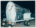 Autographs:Celebrities, Gemini 12 Crew-Signed Original Color Photo from McDonnell Aircraft. ...