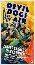 "Movie Posters:Action, Devil Dogs of the Air (Warner Brothers, 1935). Three Sheet (41"" X76"").. ..."