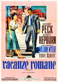 "Movie Posters:Romance, Roman Holiday (Paramount, 1953). Italian 4 - Foglio (55"" X 77"")....."