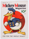 Platinum Age (1897-1937):Miscellaneous, Mickey Mouse Magazine #5 (K. K. Publications/Western PublishingCo., 1936) Condition: FR....