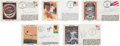Autographs:Others, 1977-2007 Hall of Famers Signed Gateway First Day Cover Cachets Lotof 34....