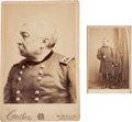 Photography, Union General Philip Sheridan Cabinet Photo and Carte de Visite....