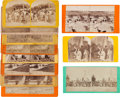 Photography:Stereo Cards, Collection of Eleven Stereoviews....