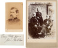 Photography:CDVs, Union Major General John Gibbon Photographs and ClippedSignature.... (Total: 3 Items)
