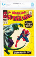 Silver Age (1956-1969):Superhero, The Amazing Spider-Man #45 (Marvel, 1967) CBCS NM 9.4 White pages....