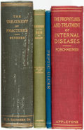 Books:Medicine, [Medicine]. Group of Four Books Related to Medical Practice. Various publishers and dates.... (Total: 4 Items)
