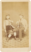 Photography:CDVs, Union Soldiers: Robert and Kady Brownell Carte de Visite....