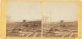 Photography:CDVs, Stereoview of the Dead at Antietam....