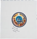 Explorers:Space Exploration, Skylab I (SL-2) Paul Weitz-Signed Beta Cloth Mission InsigniaOriginally from His Personal Collection, Signed and Certifie...