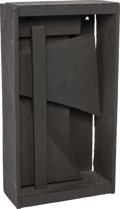Post-War & Contemporary:Sculpture, LOUISE NEVELSON (American, 1899-1988). Untitled, 1959.Painted wood. 11-3/4 x 6-1/2 x 3 inches (29.8 x 16.5 x 7.6 cm).I...