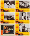 """Movie Posters:Drama, Giant (Warner Brothers, 1956/R-1970). Lobby Cards (6) (11"""" X 14""""). Drama.. ... (Total: 6 Items)"""