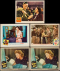 """Movie Posters:War, A Guy Named Joe and Others Lot (MGM, 1944). Lobby Cards (5) (11"""" X14""""). War.. ... (Total: 5 Items)"""