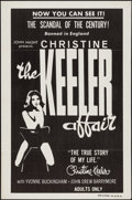 "Movie Posters:Exploitation, The Christine Keeler Affair (Jagold, 1963). One Sheet (27"" X 41"").Exploitation.. ..."
