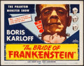 """Movie Posters:Horror, The Bride of Frankenstein (Realart, R-1953). Title Lobby Card (11"""" X 14""""). Horror.. ..."""