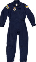 Explorers:Space Exploration, Air Force 4th Fighter Wing Blue Tech's Jumpsuit. ...