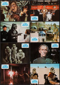 "Movie Posters:Science Fiction, Star Wars (In-Cine Distribudora Cinematografica S.A., 1977).Spanish Lobby Card Set of 12 (9.25"" X 13.25""). Science Fiction....(Total: 12 Items)"