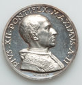 Vatican City, Vatican City: Pius XII (1939-1958) silver Medal Anno II (1940) UNC- Lightly Hairlined,...