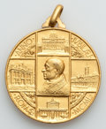 Vatican City, Vatican City: Pius XII (1939-1958) gilt and silvered MedalQuintet,... (Total: 5 coins)