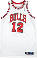 Basketball Collectibles:Uniforms, 2004-05 Kirk Hinrich Game Worn Chicago Bulls Jersey....