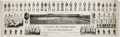 """Baseball Collectibles:Others, 1910 Chicago Cubs """"A Yard of the National Game"""" Panoramic Print...."""