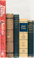 Books:Literature Pre-1900, Group of Five Literature Books. Various publishers and dates....(Total: 5 Items)