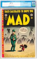 Golden Age (1938-1955):Humor, Mad #3 Gaines File pedigree 8/12 (EC, 1953) CGC NM+ 9.6 Off-white to white pages....