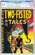 Golden Age (1938-1955):War, Two-Fisted Tales #18 Gaines File pedigree (EC, 1950) CGC NM+ 9.6Off-white pages....