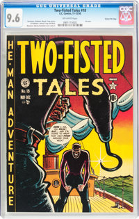 Two-Fisted Tales #18 Gaines File pedigree (EC, 1950) CGC NM+ 9.6 Off-white pages