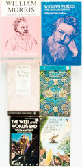 Books:Biography & Memoir, [William Morris] Group of Six Books by or about William Morris. Onepaperback and five hardbacks. Various publishers and dat... (Total:6 Items)
