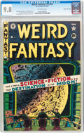 Golden Age (1938-1955):Science Fiction, Weird Fantasy #15 (#3) Gaines File pedigree (EC, 1950) CGC NM/MT9.8 Off-white pages....