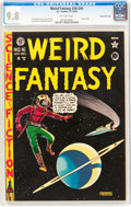 Golden Age (1938-1955):Science Fiction, Weird Fantasy #16 (#4) Gaines File pedigree 3/11 (EC, 1950) CGCNM/MT 9.8 Off-white pages....
