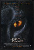 "Movie Posters:Action, The Ghost and the Darkness Lot (Paramount, 1996). Advance One Sheet(27"" X 40"") DS and another One Sheet. ... (Total: 2 Items)"