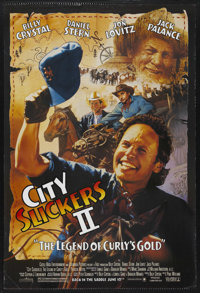 "City Slickers II: The Legend of Curly's Gold Lot (Columbia, 1994). Advance One Sheet (27"" X 41"") and One Sheet..."
